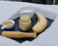 Μάσκα Μαλλιών από Μπανάνα