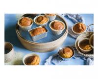 Αλμυρά Muffins με Kαλαμποκάλευρο και Φέτα