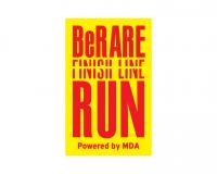 Be Rare Finish Line Virtual Run για το MDA Hellas