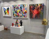 """Έκθεση """"Splash of Color"""" από το «The Art Dose»"""
