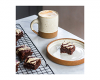 Brownies με Ταχίνι